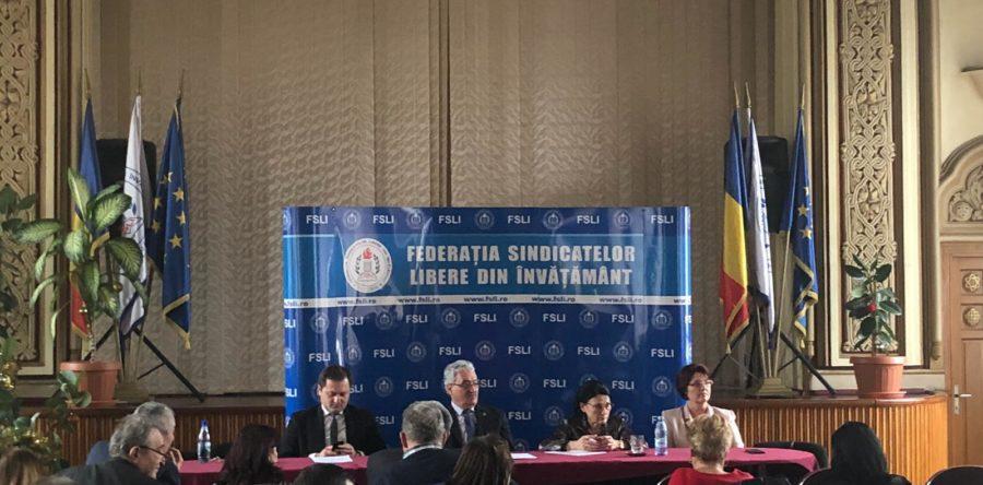 Sedinta CNL, cu participarea ministrului Educatiei, Ecaterina Andronescu.