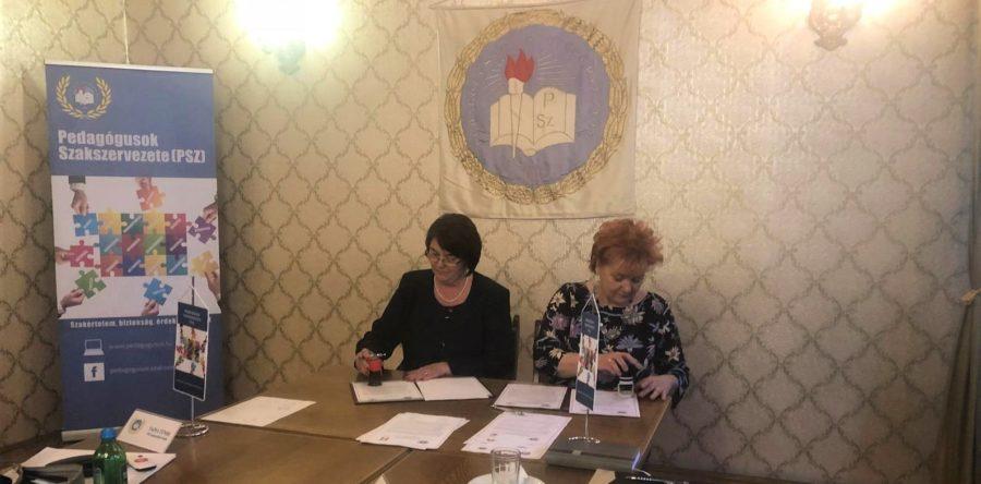 F.S.L.I. a semnat un acord de parteneriat cu Pedagogusok Szakszervezete, organizatia sindicala care reprezinta angajatii din educatie din Ungaria