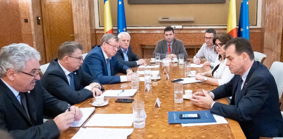Federatiile din educatie-intalnire cu Premierul Romaniei pe tema  problemelor din invatamant